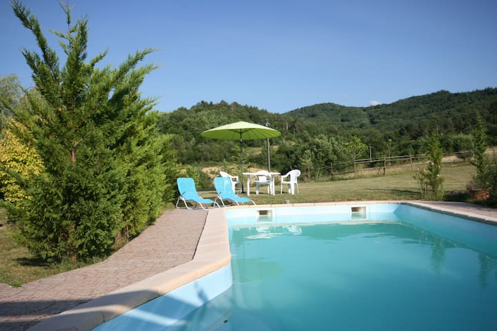 Rural gite with pool, near Carcassonne, SW France - Rivel - Rumah
