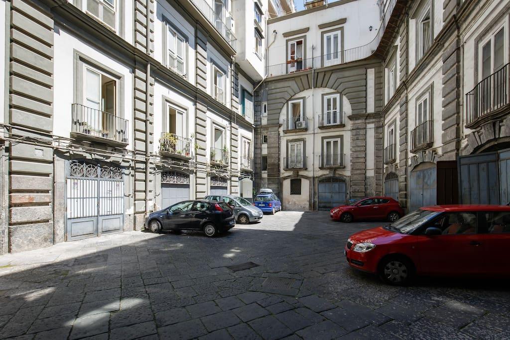 Cortile Palazzo Sansevero