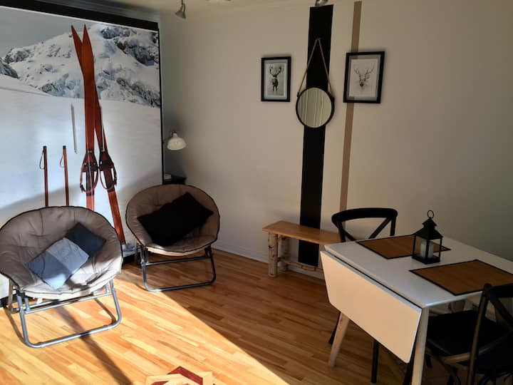 II. COZY STUDIO in MONT-TREMBLANT  PERFECT GETAWAY