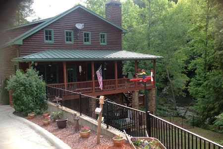 Rushing River Retreat - Dahlonega - Cabin