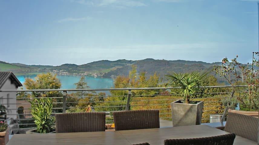 Beautiful apartment with fantastic lake view