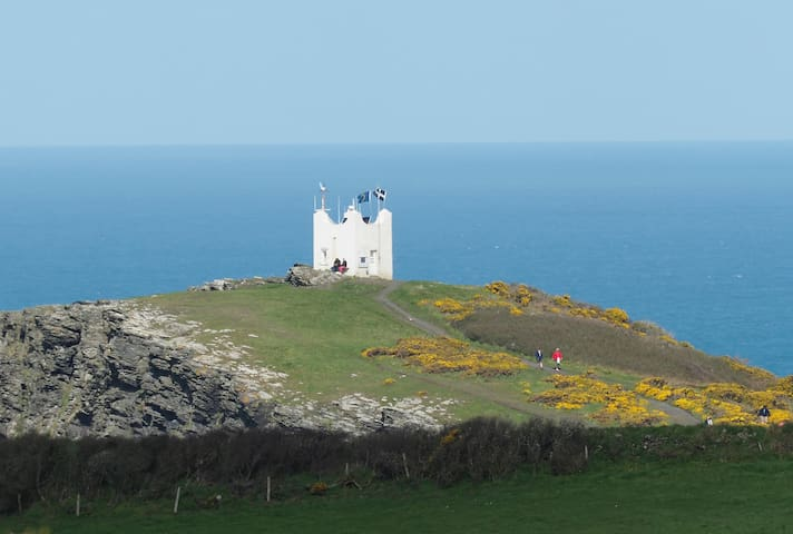 Detached Boscastle apartment with amazing views - Boscastle - Appartement
