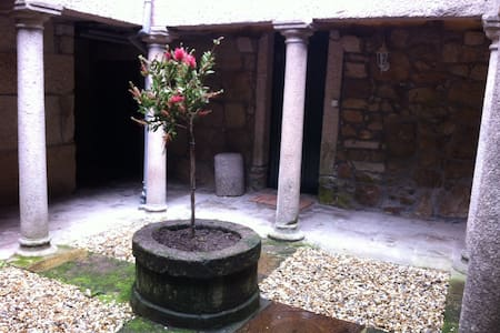 Medieval patio in Tui