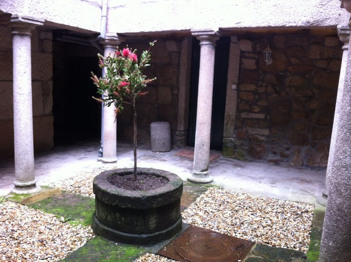 Medieval patio in Tui