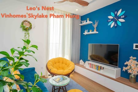 Leo'sNest-Next2Keangnam-1BR-1SF Bed-CleanAir&Water