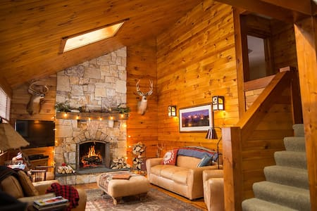 Rustic, Luxury Cabin in the Berkshire Mountains