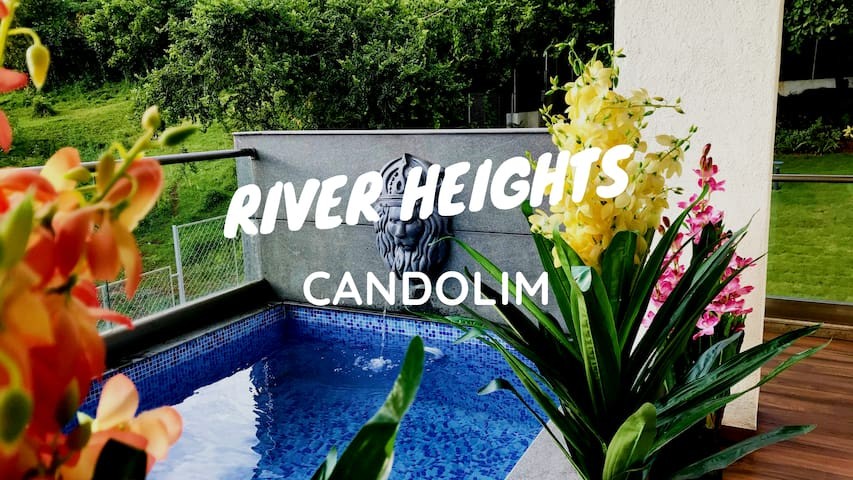 RIVER HEIGHTS 6BHK Luxury River View 2 Plunge Pool