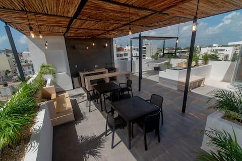 Modern Studio near to 5th Av and beach #402