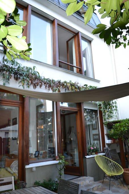 Facade de la maison