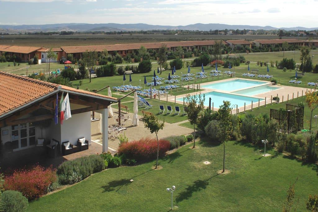 maremma toscana residence con piscina appartamenti