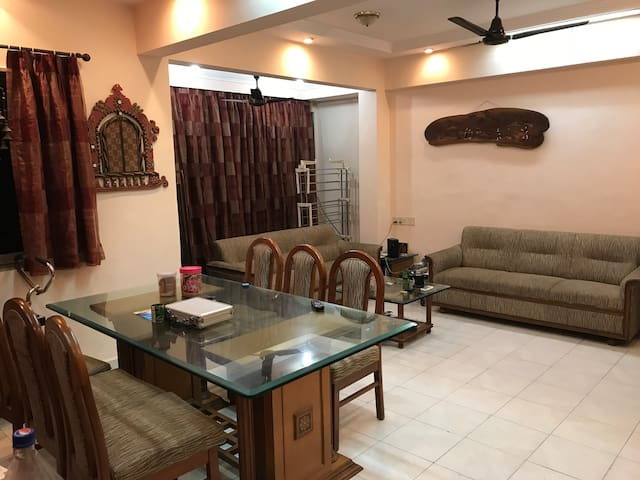 Spacious flat with all required amenities