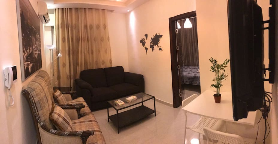 Modern apt, hillview terrace in jabal amman - Amán - Departamento
