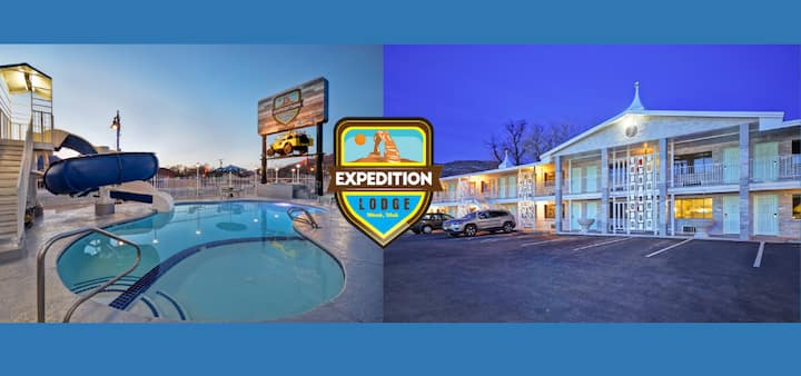 Exp Lodge-Main St/Pet Friendly/Outdoor Heated Pool