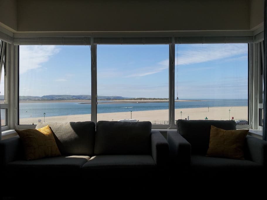 View from sitting room over estuary