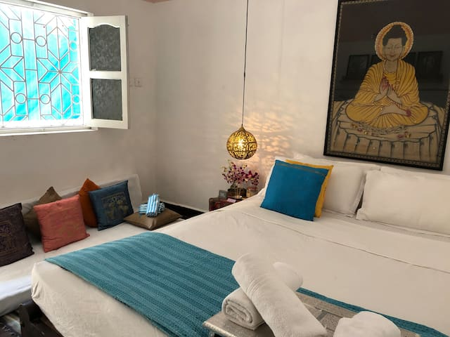 Mahi Agonda - A Riverside Oasis.  The Buddha Suite