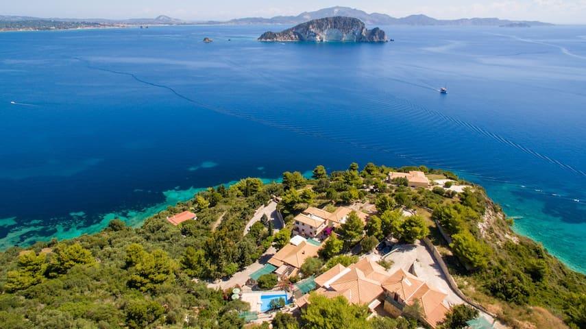 *Turtle Island Studio B with panoramic sea view* - Zakynthos - Apartment