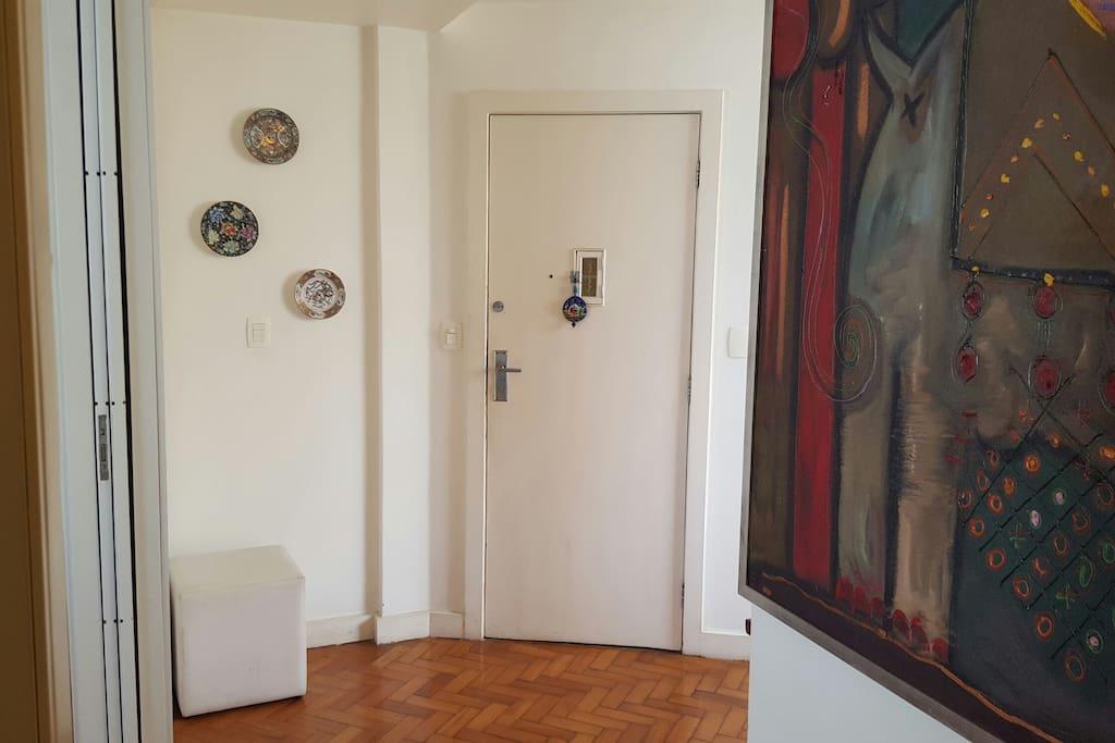 porta de entrada social