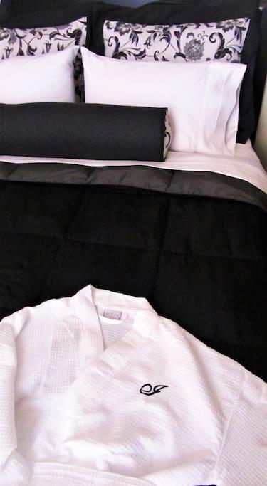 Master bedroom details.