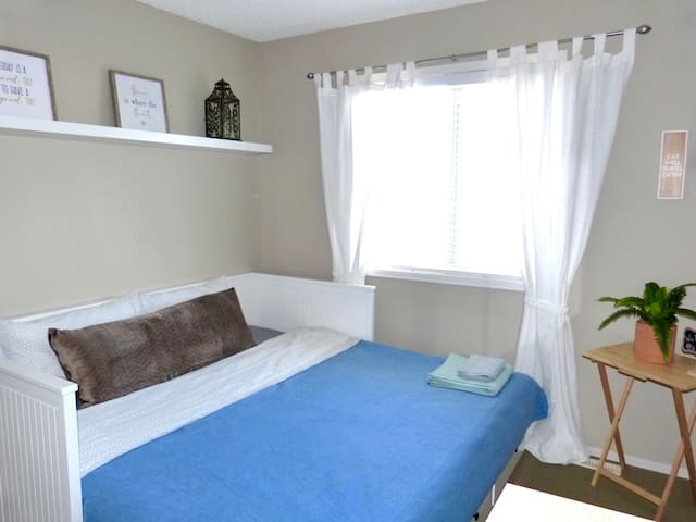 New furnishings in a cozy room in Spruce Grove