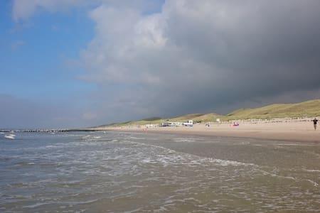 Appartement vlakbij zee en strand - Callantsoog - Blockhütte