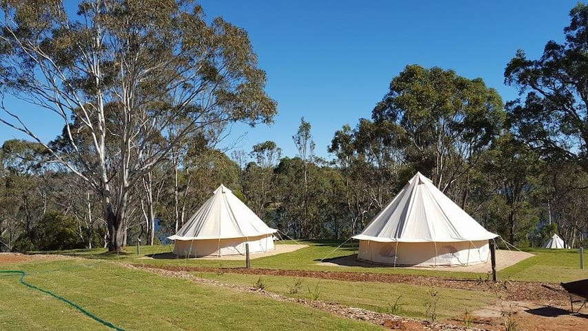 Couples Luxury Tent Getaway on Private Estate