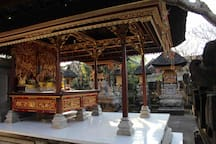 My balinese temple at home