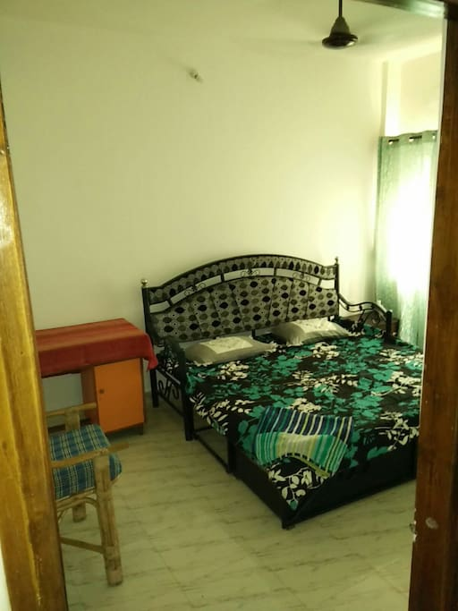 Newly painted clean and large room with 3 mattresses