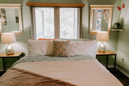 The Megan Love Master Bedroom