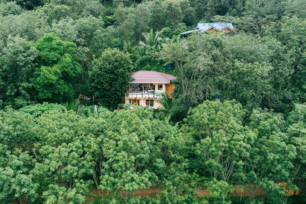 Relax in peace and tranquillity, away from the tourist bustle and noise of the streets and beaches. Firefly Lodge is completely secluded in the middle of the jungle and yet only 5 minutes to local amenities