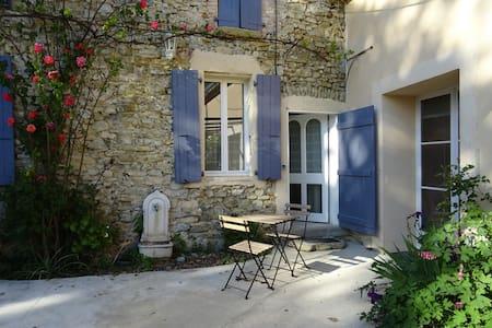 Old stone built Mas, swimming pool, wood burner -M - Pont-de-Barret - 公寓