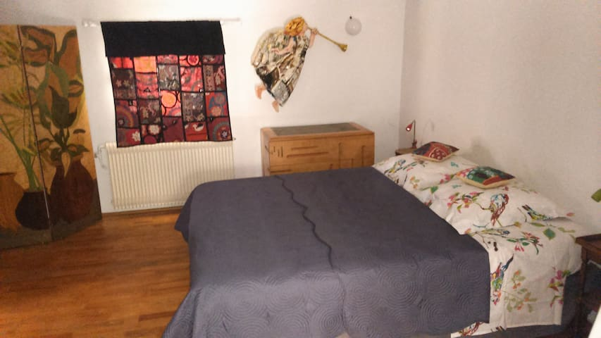 chambre lit double+lit simple