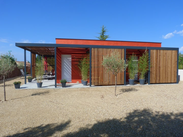 Les LODGES II (Villa avec Spa privatif) VALENSOLE