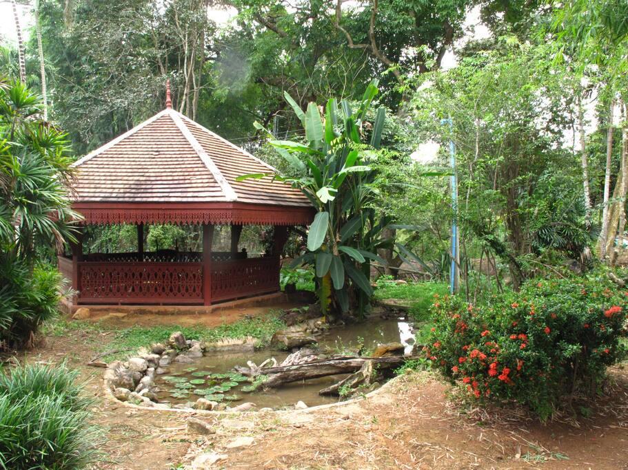 Hexagon rest house