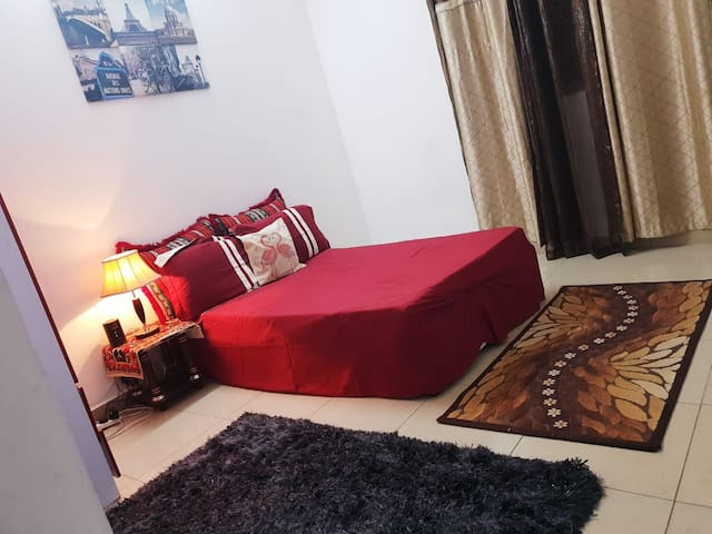 Cozy one bedroom near Al khan Cornish and AlQasba
