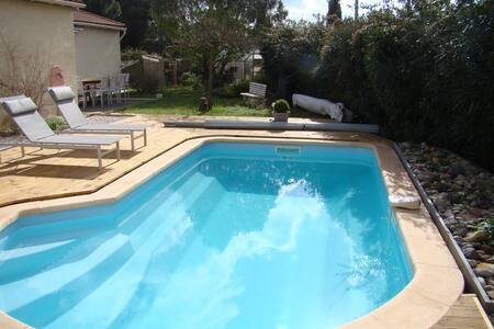 Villa 130m2 with air condit. 5 min from Herault - Canet - 別荘