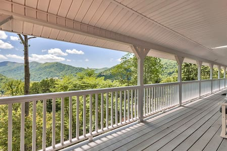 SPECIAL RATES! Maggie Valley Family Home w/Views - Maggie Valley - Talo