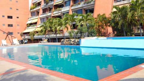 Luxury Beach Departament  for 5 at Lecheria VZLA