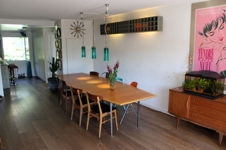 Big & quiet house with garden close GVA center - Lancy - Casa