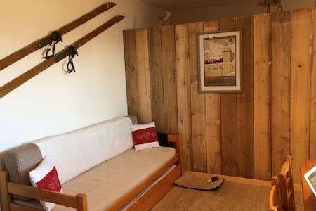Charmant appartement de montagne, chambre, balcon! - Font-Romeu-Odeillo-Via - Osakehuoneisto