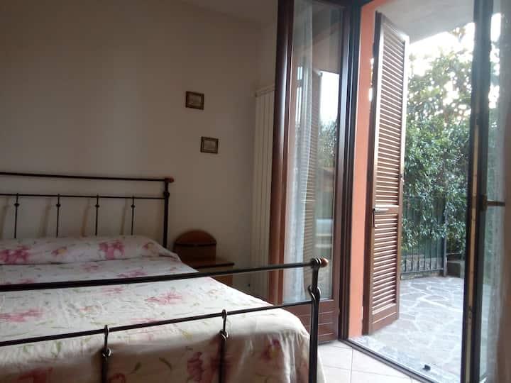 Splendido appartamento con giardino privato