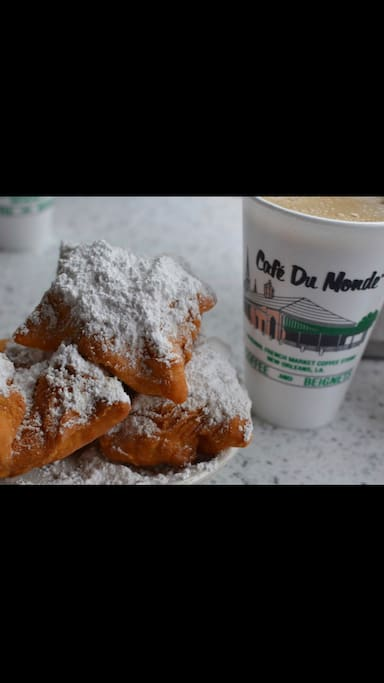 Cafe Du Monde Is only 1.2 miles away