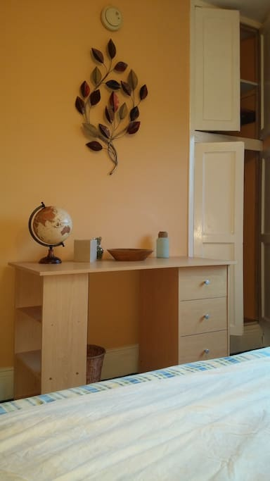 Private bedroom table