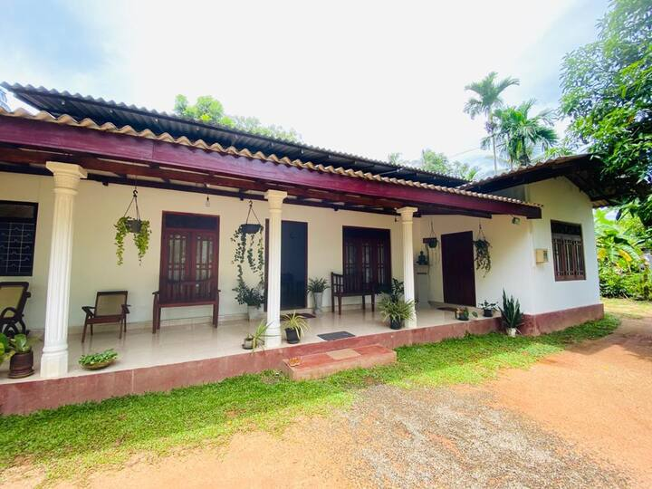"Vijaya House    "" Experience of  Sri lankan style"""