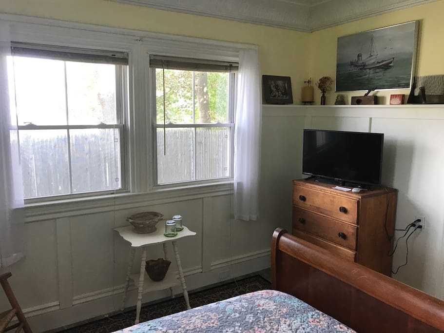 Dresser and dedicated Satellite Television