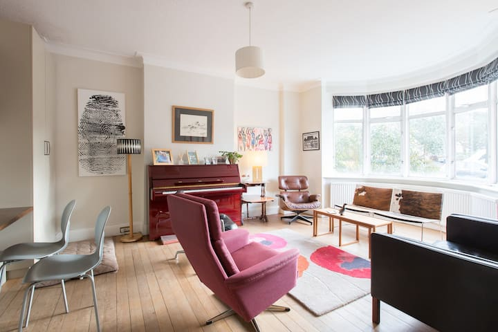 A lovely bright spacious home - Londres - Bed & Breakfast