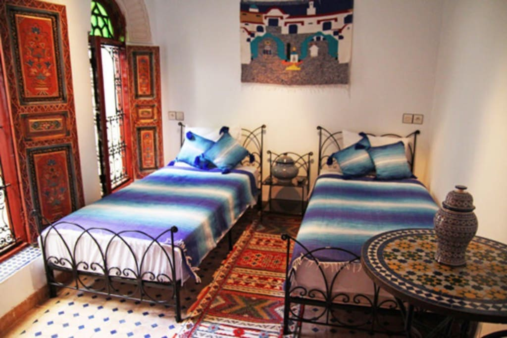 Bleu room