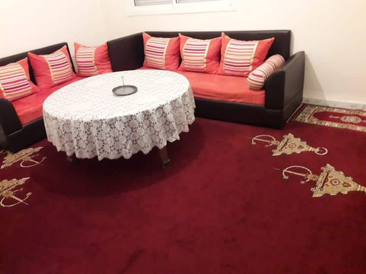 2 room apartment living room in Casablanca
