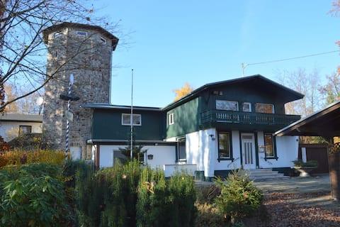 Pleasant Holiday Home in Kemmenau with Sauna