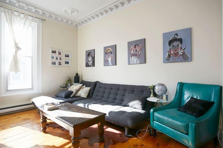 Traveler's Casa in St-Henri - Montréal - Apartament