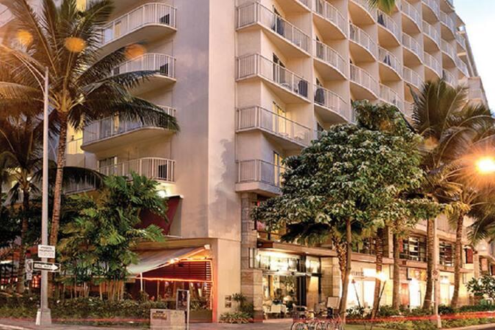 The Aloha spirit, Wyndham at Waikiki Beach Walk®